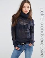 Noisy May Petite Roll Neck Sweater