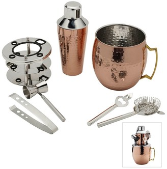 Mikasa Hammered Moscow Mule 6-Piece Bar Set