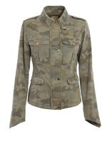 Fay Camouflage Cotton Field Jacket