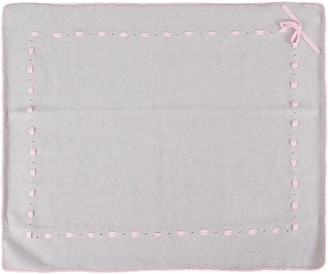 Little Bear Grey Blanket For Baby Girl