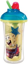 Munchkin Character Click Lock Insulated Straw Cup - SpongeBob SquarePant - 9 oz