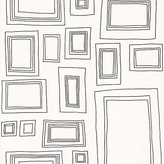 Graham & Brown Wallpaper Sample - Frames White
