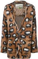 Off-White leopard print cardigan - men - Polyamide/Mohair/Wool - M