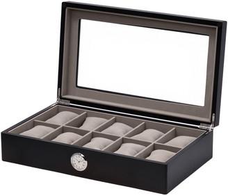 Bey-Berk Black Wood 10 Watch Case