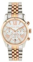 Michael Kors Tri-Colour Lexington 38mm Chronograph Watch
