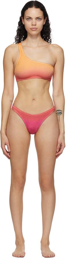 BOUND by Bond-Eye Pink & Orange 'The Samira' Bikini