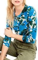 J.Crew Women's Sequin Flower Tippi Sweater