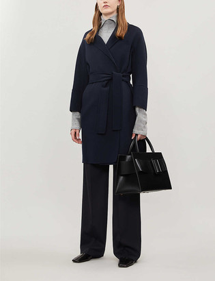 S Max Mara Arona single-breasted wool coat
