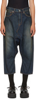 Junya Watanabe Indigo Sarouel Selvedge Jeans