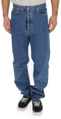 Maison Margiela High Rise Straight Jeans