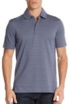 Saks Fifth Avenue Feeder Striped Polo Shirt