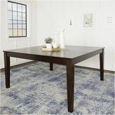 Asstd National Brand 60 Cappuccino Wood Square Dining Table