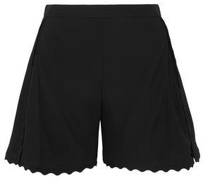 Chloé Scalloped Cady Shorts