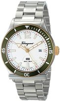 Salvatore Ferragamo Men's FF3150014 1898 Sport Stainless Steel Watch