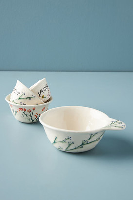Anthropologie Dagny Measuring Cups, Set of 4 By in White Size MEAS CUPS