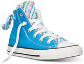 Converse Little Girls' Chuck Taylor All Star Bow Back Camp Craft Casual Sneakers from Finish Line
