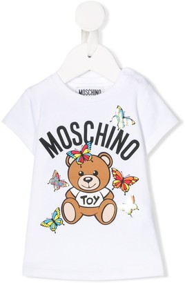 MOSCHINO BAMBINO graphic print T-shirt