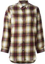 IRO plaid button down shirt