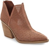 Vince Camuto Gibbela Woven Pointed Toe Bootie