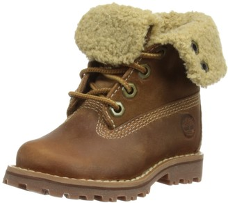 "Timberland 6"" Shearling Classic Unisex Kids' Boots Rust Nubuck 6 Child UK (23 EU)"