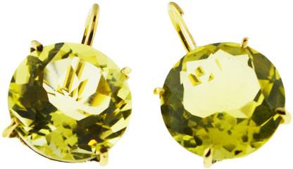 Mabel Chong - Lemon Quartz Earrings