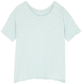 American Vintage Sonoma blue slubbed cotton T-shirt