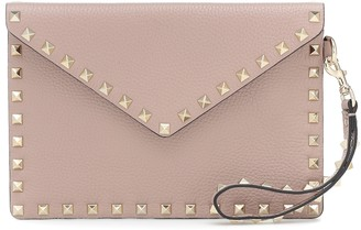 Valentino Rockstud Small leather pouch
