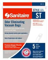 Electrolux Homecare Products 63213B 5-Pack ST Style Sanitaire Vacuum Bag