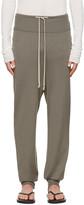 Rick Owens Grey Drawstring Lounge Pants