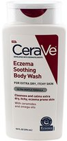 CeraVe Eczema Soothing Body Wash, 10 Fluid Ounce