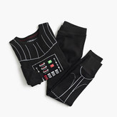 J.Crew Kids' Star WarsTM for crewcuts glow-in-the-dark Darth Vader sleep set