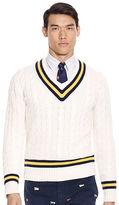 Ralph Lauren Cotton-blend Cricket Sweater