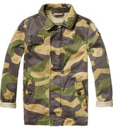 Scotch & Soda Oversized Camouflage Jacket