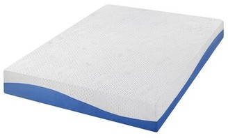 "Alwyn Home Macy Aquarius 10"" Medium Gel Memory Foam Mattress Alwyn Home Mattress Size: Twin"