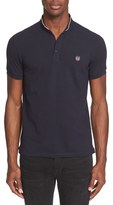 The Kooples Pipe Trim Band Collar Polo