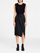 DKNY Sleeveless Top With Bonded Hem