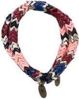 Isabel Marant Burgundy Wood Bracelet