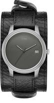 Storm Benzo round titanium watch