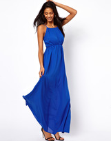 Asos Maxi Dress With Keyhole Detail
