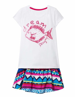 Desigual Girl Knit T-Shirt Short Sleeve (Pack_pomo)