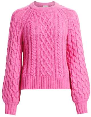 A.L.C. Mick Cable Knit Sweater