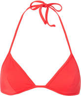 Solid & Striped Wendy Red Triangle Bikini Top