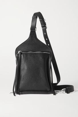 Rag & Bone Elliot Textured-leather Backpack - Black