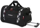 "Swiss Gear SwissGear Plaid 22"" Limited Edition Rolling Duffel Bag"