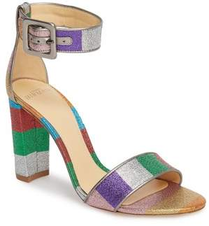Alexandre Birman Delfina Metallic Stripe Sandal