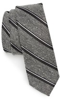 The Tie Bar Men's Stripe Nep Silk Tie