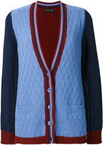 Etro - colour-block knitted cardigan