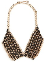 BaubleBar Black Mesh Collar