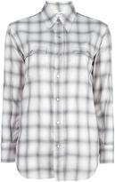 Saint Laurent casual checked shirt