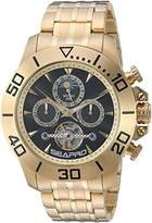 Seapro Men's 'Montecillo' Automatic Stainless Steel Casual Watch, Color:Gold-Toned (Model: SP5131)